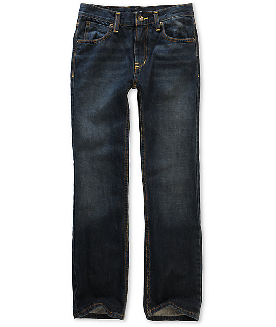 Free World Boys Messenger Rinse Tint Skinny Jeans