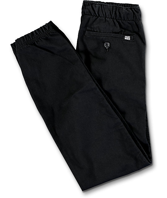 Free World Boys Remy Boys Black Jogger Pants