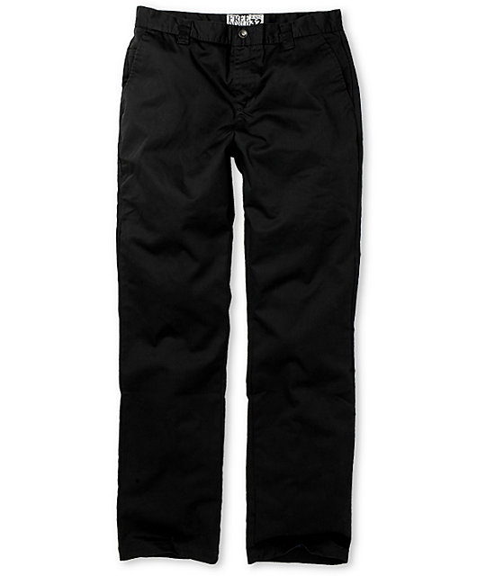 Free World Damien Chino Black Pants