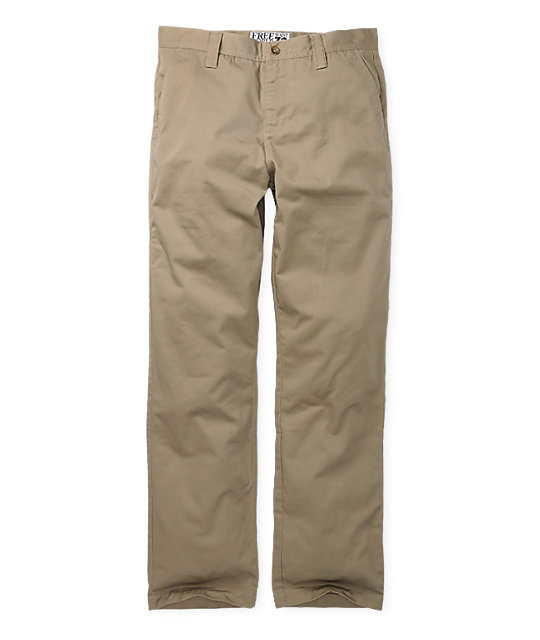 Free World Damien Chino Khaki Pants