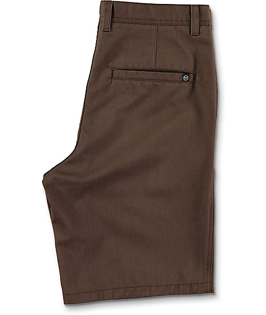 Free World Discord Coffee Bean Chino Shorts