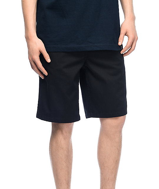 Free World Discord shorts chinos en negro