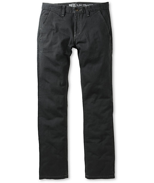 Free World Drifter Charcoal Chino Pants
