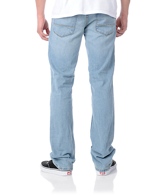 Free World Drifter Light Blue Slim Jeans