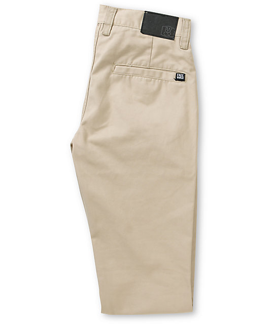Free World Drifter Stay Press pantalones chinos estrechos