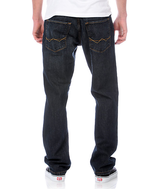 Free World Garage Dirt Wash Relaxed Fit Jeans