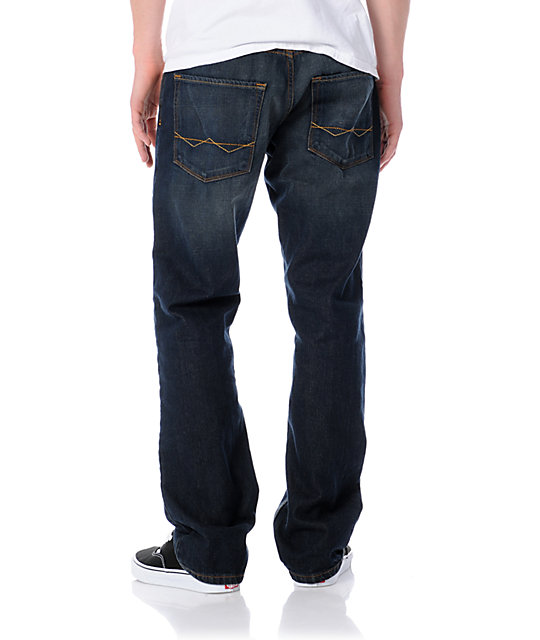 Free World Garage Rinse Tint Relaxed Fit Jeans
