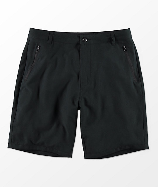 Free World Maverick shorts híbridos en negro