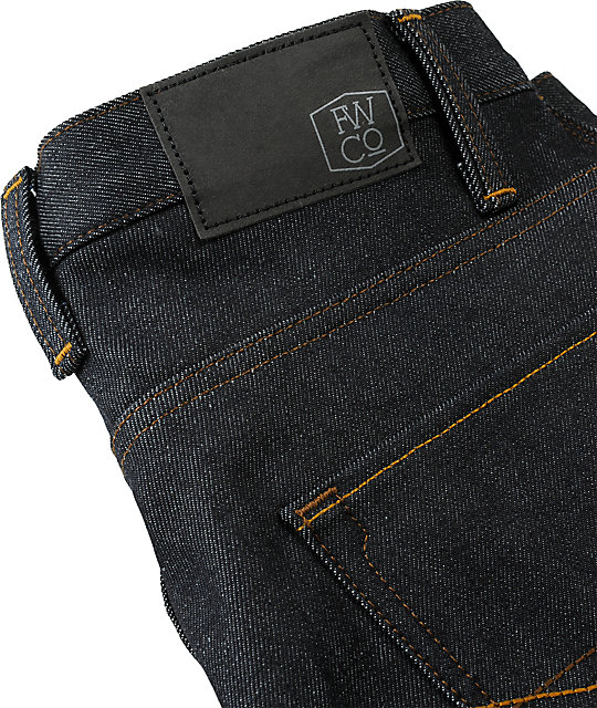 Free World Night Train Basic Blue Regular Fit Jeans