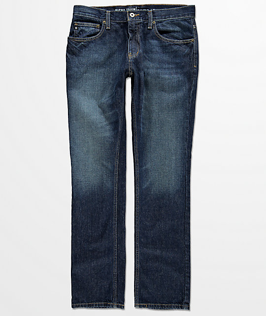 Free World Night Train Miami Indigo Jeans  (Past Season)