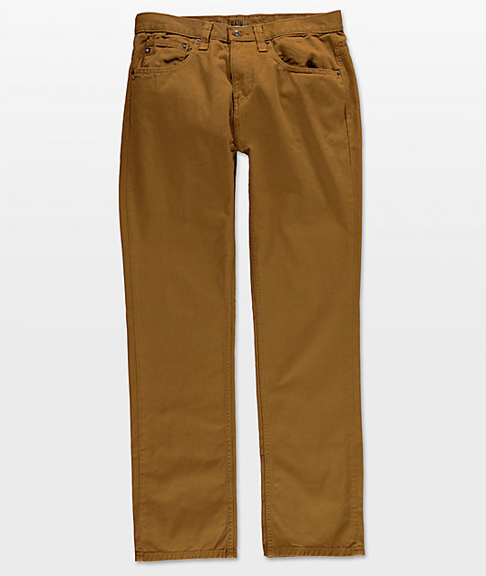 Free World Night Train Tobacco Twill Pants ...