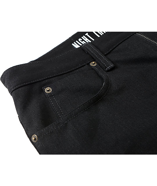 Free World Night Train jeans de ajuste regular Denim Black