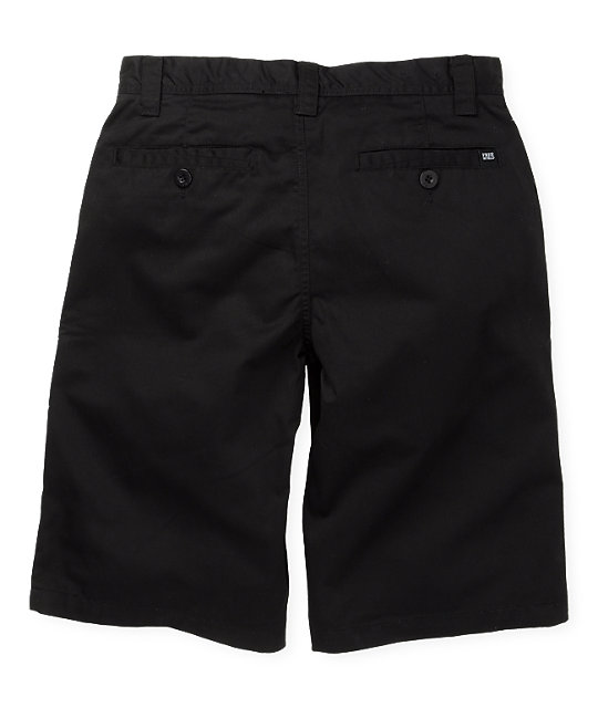 Free World Quiksand Black WalkShorts