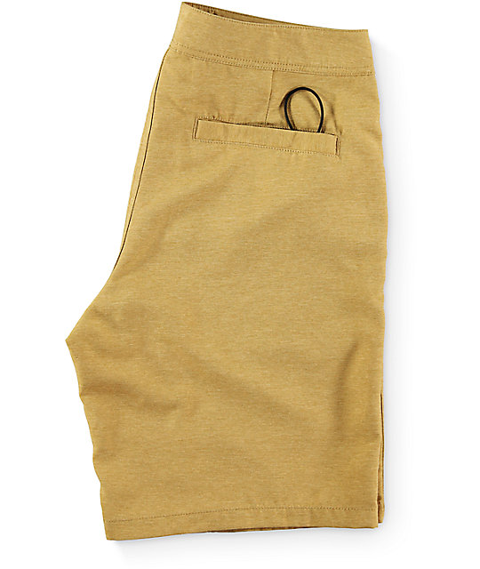 Free World Surfrider Tobacco Hybrid Shorts
