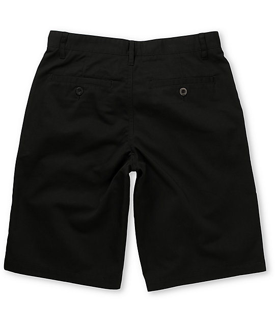 Free World Threat Black Shorts