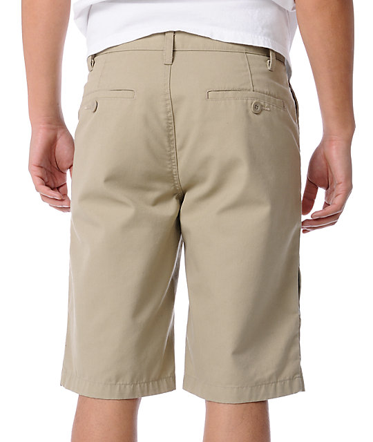 Free World Threat Khaki Shorts
