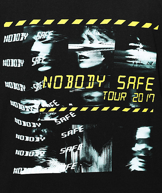 Freebandz Nobody Safe Faces camiseta negra
