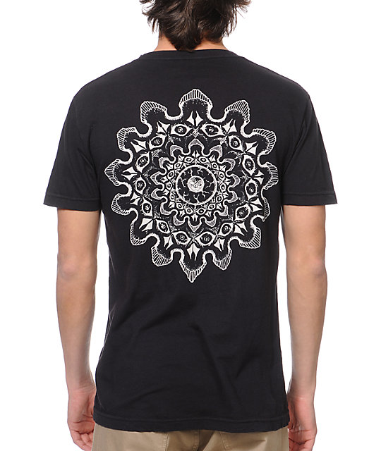 Freedom Artists Skully Black T-Shirt