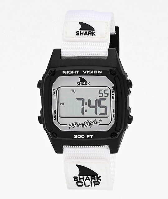 comprar popular a6792 555ba Freestyle Shark Classic Clip Monochrome reloj digital negro y blanco