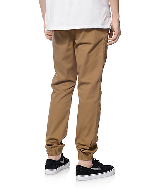 Freeworld Remy Dark Khaki Jogger Pants