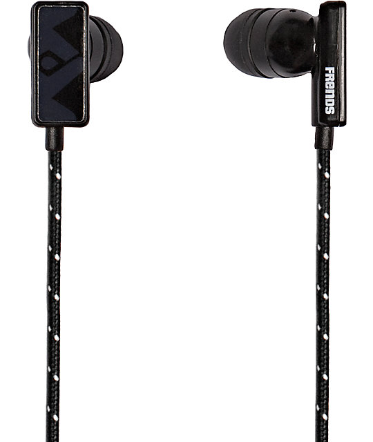 Frends The Clip Black Earbuds