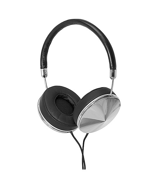 Frends The Taylor Silver & Black Over Ear Headphones