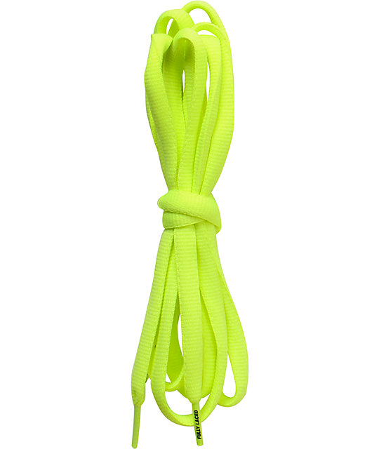 Fully Laced 48 Volt Neon Shoe Laces