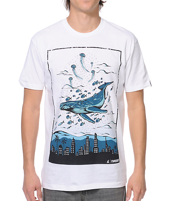 Fyasko Lost City White T-Shirt
