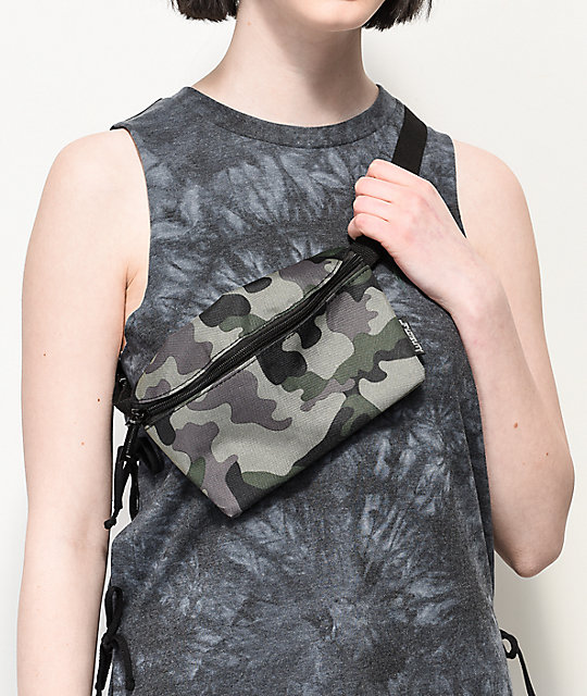 Fydelity Camo Fanny Pack