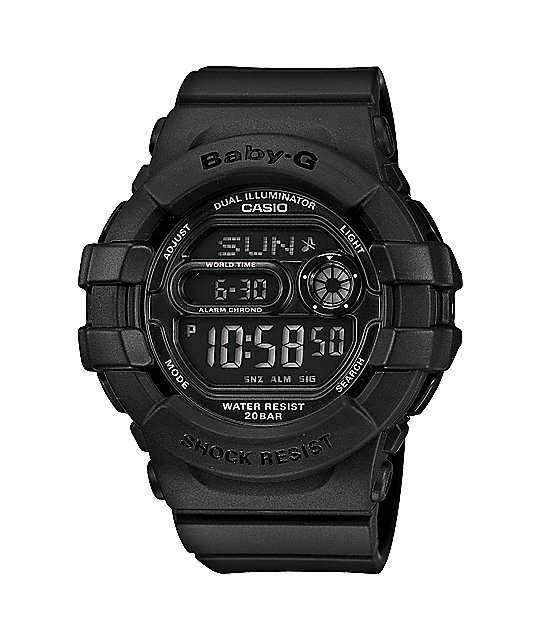 G-Shock BGD140-1A Baby-G 3D Black Watch