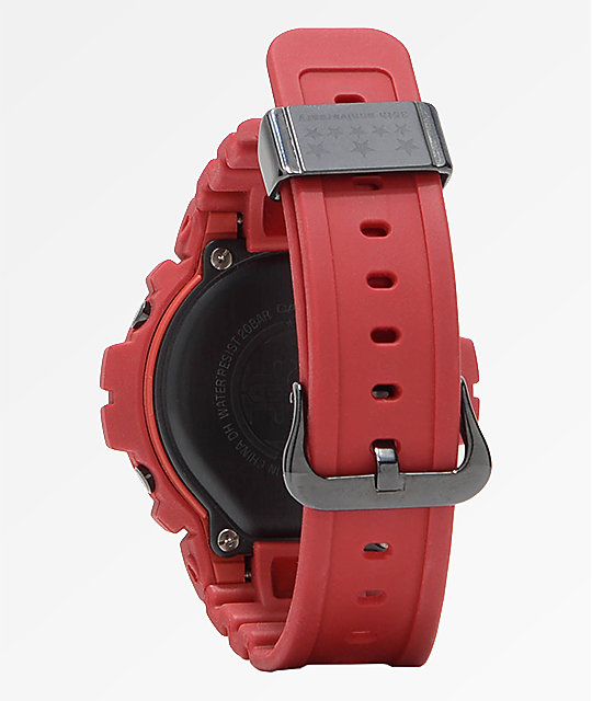 G-Shock DW-6900 Red Out Series Digital Watch