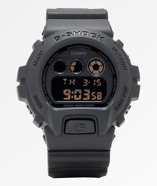 G Shock Dw6900 Stealth Black Digital Watch