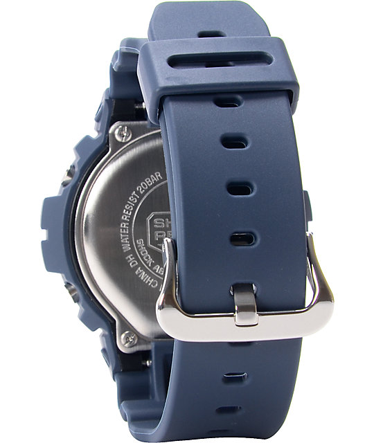 G-Shock DW6900HM-2 Classic Navy Blue Watch