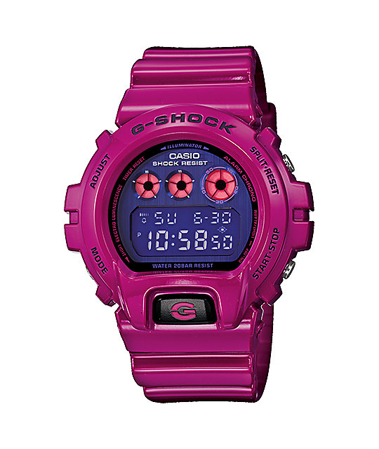 G-Shock DW6900PL-4 Polarized Magenta Watch