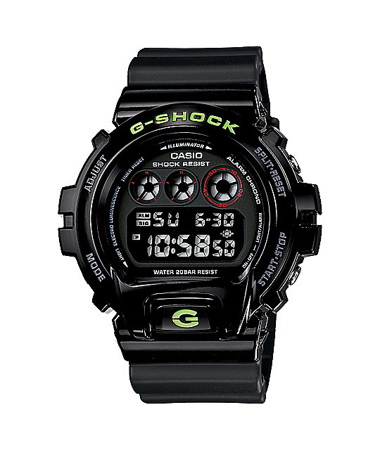 G-Shock DW6900SN-1 Black Digital Watch