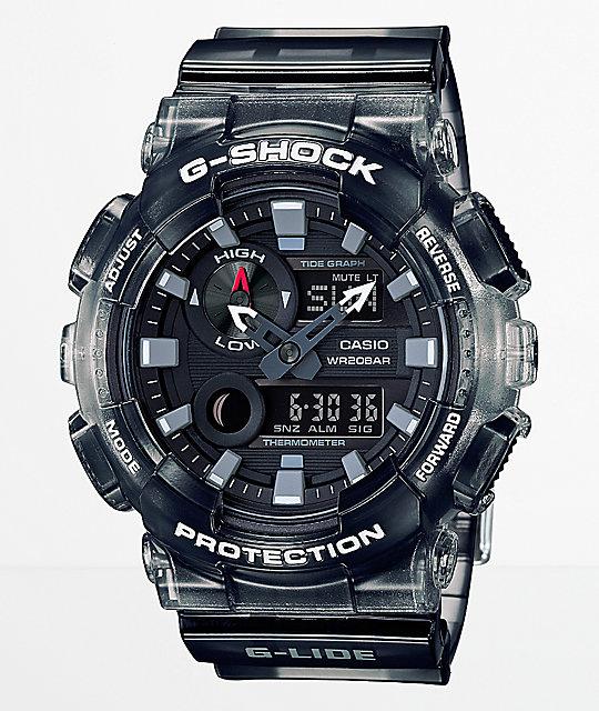 1073e7430346 G-Shock G-Lide GAX100M-SB Gradient Black Digital   Analog Watch