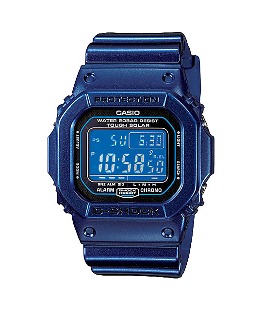 G-Shock G-Lide Solar G5600CC-2 Metallic Blue Digital Watch