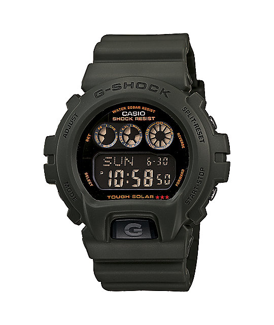 G-Shock G6900KG-3 G-Force Olive Green Watch