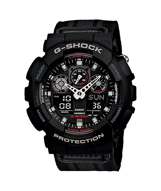 G-Shock GA-100MC-1A Chronograph Black Digital & Analog Watch