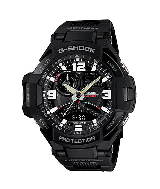 G-Shock GA1000-1A G-Aviation Digital Watch