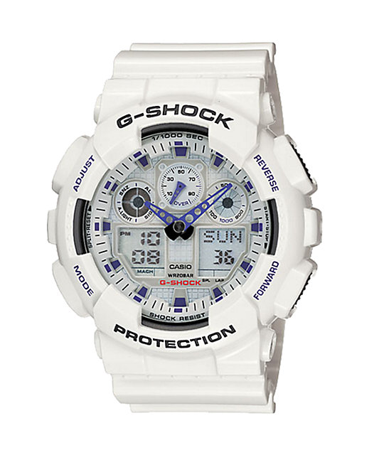 G-Shock GA100A-7A Digital Watch