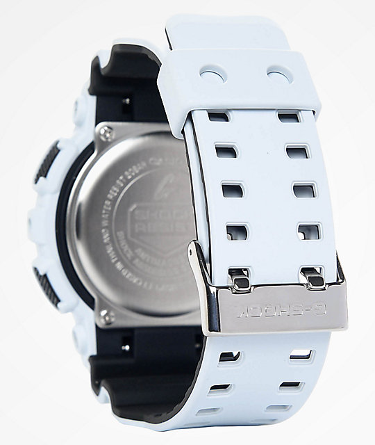 G-Shock GA100L-7A Military White Layered Watch