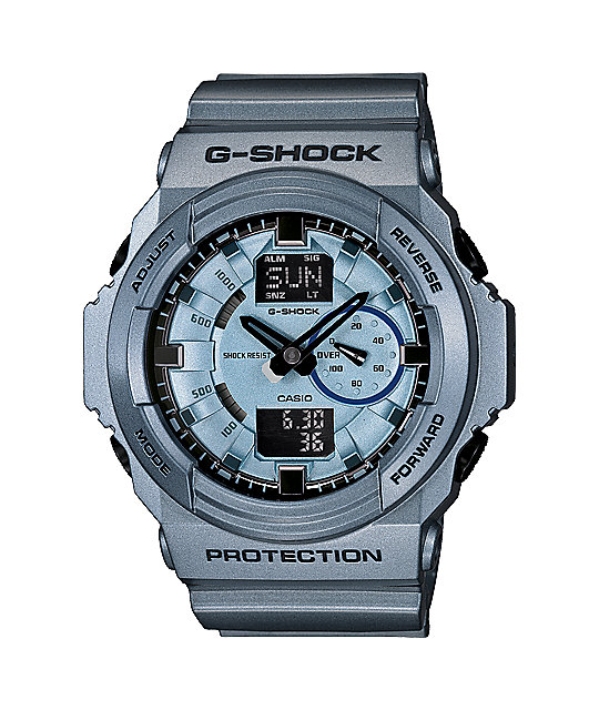G-Shock GA150A-2A Metallic Blue Watch
