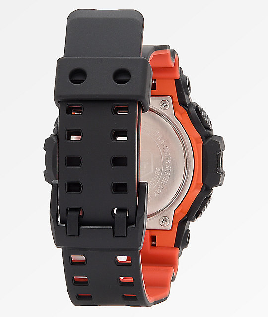 8519d4ecd28a ... G-Shock GA700BR Black   Orange Analog-Digital Watch ...