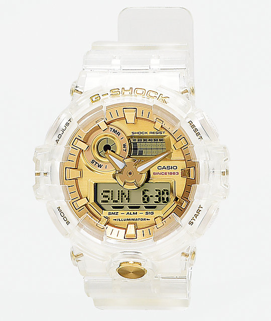 G-Shock GA735 Skeleton   Gold Watch  31cf62103d07