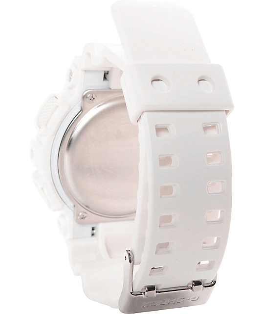 58710128b2e3 ... G-Shock GD-100WW-7S White Series Digital Watch ...