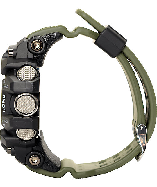 G-Shock GG1000-1A3 Mudmaster Twin Sensor Olive Watch