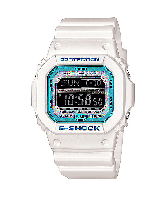 G-Shock GLS5600KL-7 G-Lide White & Sky Limited Edition Digital Watch