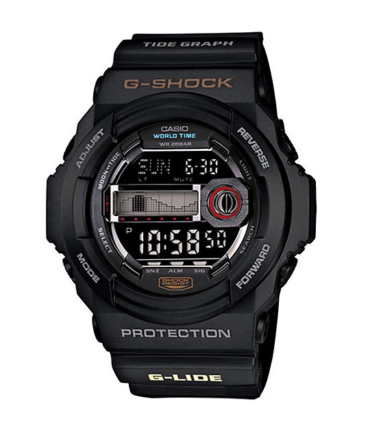 G-Shock GLX150-1 G-Lide Black Watch