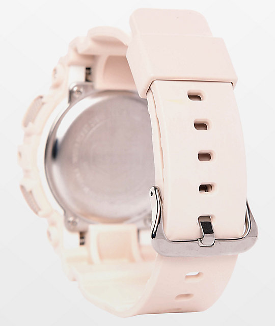 G-Shock GMAS120MF-4A Light Pink & Gold Watch